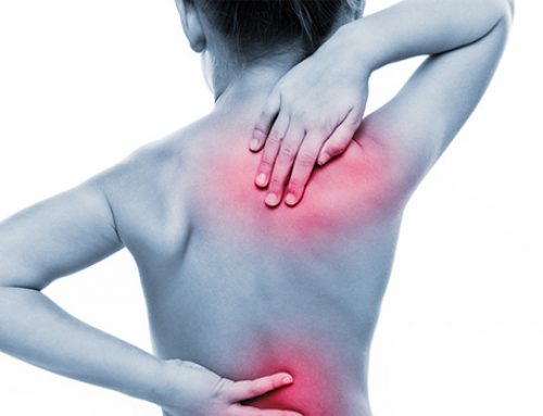 Rolfing treats Scoliosis